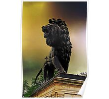 The Maiwand Lion, Reading, UK Poster