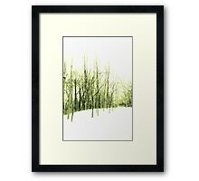 Waiting For My Life Framed Print