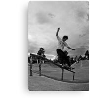 Jordan Latoa - Front Feeble Canvas Print