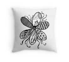 Flower Garden (The Classic Collection) Throw Pillow