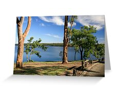 Yan Yean Reservoir,Victoria Greeting Card