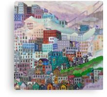 The Rainbow District  #2 Canvas Print