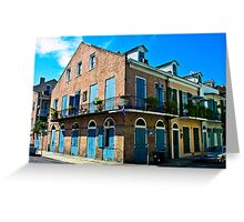 The French Quarter Greeting Card