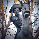 Pony Express Rider by the57man