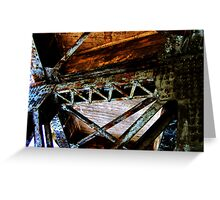Girders Greeting Card