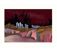 """Dawn Travelers""  Art Print"