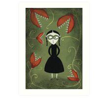 Viola's Garden Art Print