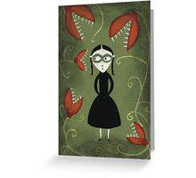 Viola's Garden Greeting Card