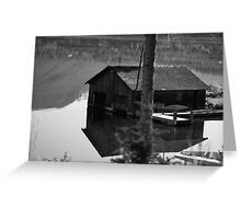 Boat House Greeting Card