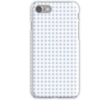 Alice Blue Lattice in an English Country Garden iPhone Case/Skin