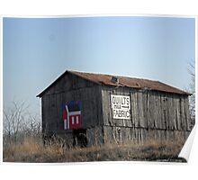 Kentucky Quilt Barn Poster