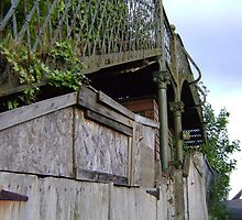bridge over a.. shed? by armadillozenith