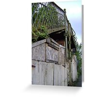 bridge over a.. shed? Greeting Card