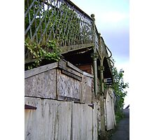 bridge over a.. shed? Photographic Print