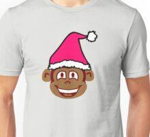 Cheeky Christmas Moneky Unisex T-Shirt
