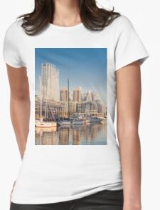 Puerto Madero - Buenos Aires (Argentine) bis Womens Fitted T-Shirt