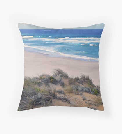 Mandalay beach - SW Australia Throw Pillow