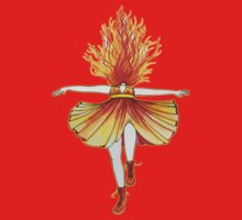 Girl on fire by Studinano One Piece - Short Sleeve