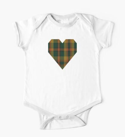 00336 Londonderry County District Tartan  One Piece - Short Sleeve