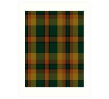 00336 Londonderry County District Tartan  Art Print