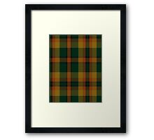 00336 Londonderry County District Tartan  Framed Print
