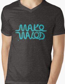Make Waves Mens V-Neck T-Shirt