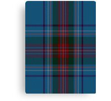 00339 Louth County District Tartan Canvas Print