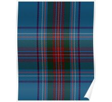 00339 Louth County District Tartan Poster