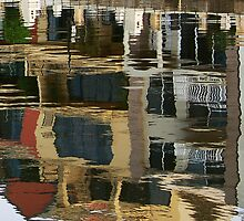 Patterns on water by Eve Parry