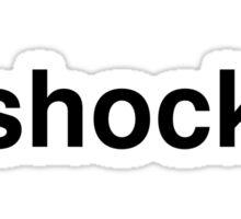 shock Sticker