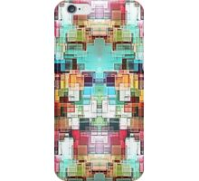Colorful Abstract square pattern iPhone Case/Skin