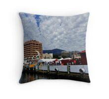Australia, Tasmania South-Hobart  Throw Pillow