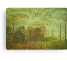 Before Storm. Sketch  / 1988 / oil on cardboard Canvas Print
