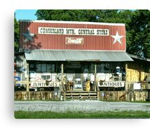 Cumberland Mountain General Store (color version) Canvas Print
