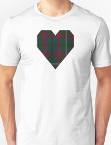 00341 Mayo County District Tartan T-Shirt