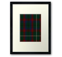 00341 Mayo County District Tartan Framed Print