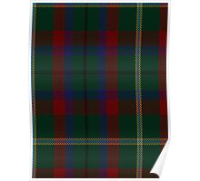 00341 Mayo County District Tartan Poster