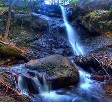 Stanley park falls Mt Macedon Vic Australia by doug hunwick