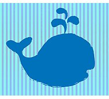 Whale Couple Photographic Print