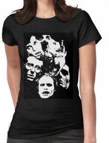 Zombie Icons Womens Fitted T-Shirt