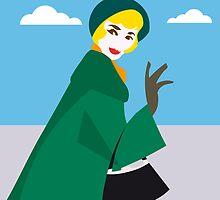 Woman pop 50's style by alvaroc