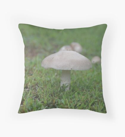 Fungus For The Ages Throw Pillow