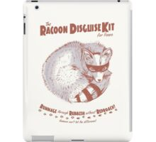 The Raccoon Disguise Kit for Foxes iPad Case/Skin