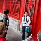 Melbourne chick fascinated by Bejing tour guide by geof