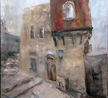 Old Jaffo House by Stella  Shube As