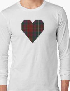 00343 Meath County District Tartan  Long Sleeve T-Shirt