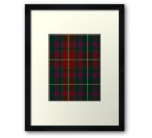 00343 Meath County District Tartan  Framed Print