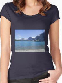 Banff, Alberta, Canada Women's Fitted Scoop T-Shirt