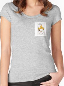 All Hail. Women's Fitted Scoop T-Shirt