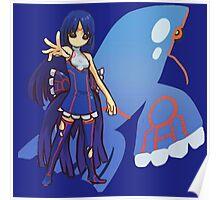 Kyogre | Kawaii Fan-Art Poster